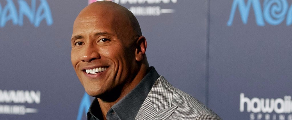 You Have to See Dwayne Johnson in a Wig