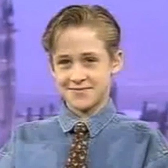 Young Ryan Gosling on Canadian Television | Video