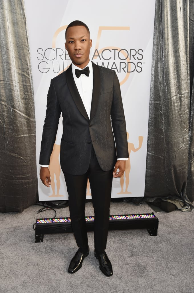 Corey Hawkins at the 2019 SAG Awards