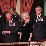Royal Family at Festival of Remembrance Service 2018