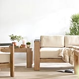 Montpelier Wood Patio Side Table