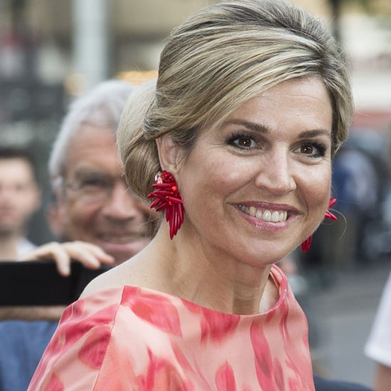 Queen Maxima's Red Natan Dress at Holland Festival 2016