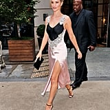 Rosie Huntington Whiteley's Christopher Kane Slip Dress