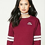Forever 21 Striped Graphic Sweatshirt ($16)