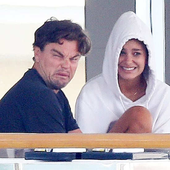 Leonardo DiCaprio Making Faces on a Boat August 2018