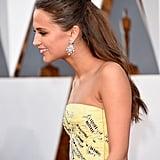 Alicia Vikander at the 2016 Oscars