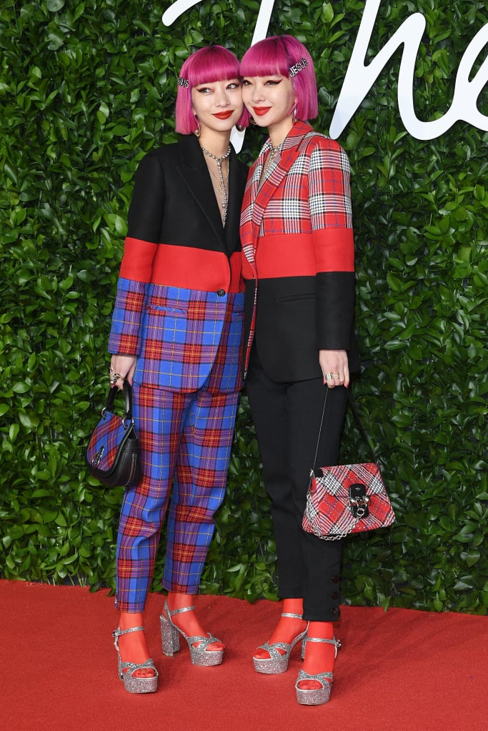 Ami and Aya Suzuki at the British Fashion Awards 2019