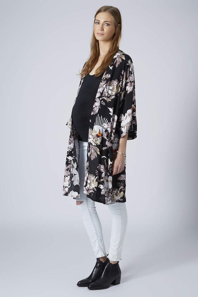 Topshop Fantasy Print Kimono