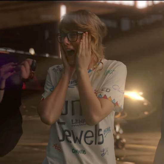 What Are the Names on Taylor Swift's Shirt in Music Video?