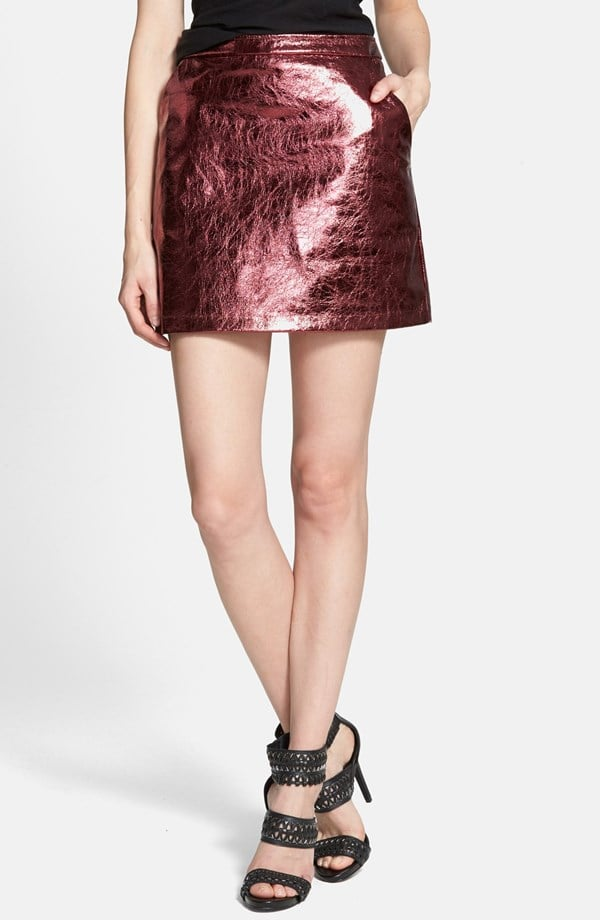 Sister Jane Metallic Miniskirt