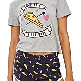 Topshop Love Pizza Short Pajamas ($40)