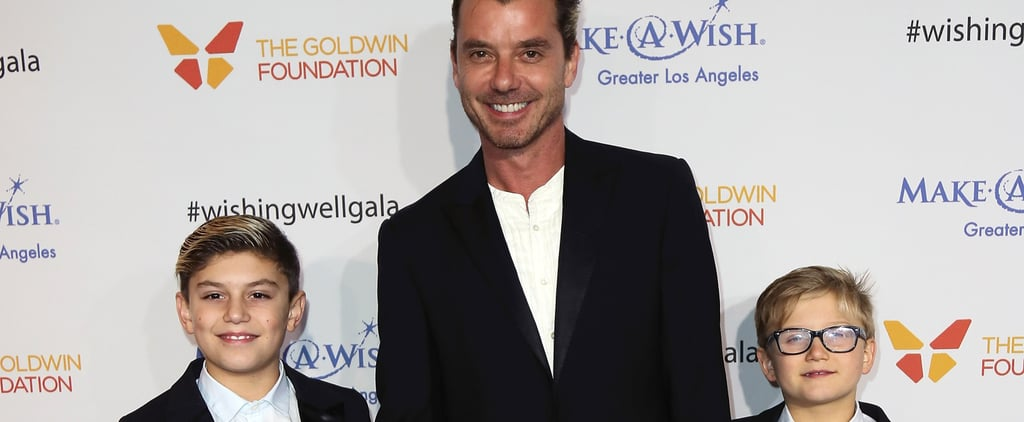 Gavin Rossdale Has the Cutest Boys' Night Out With Sons Kingston and Zuma