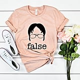 The Office TV Show False Shirt