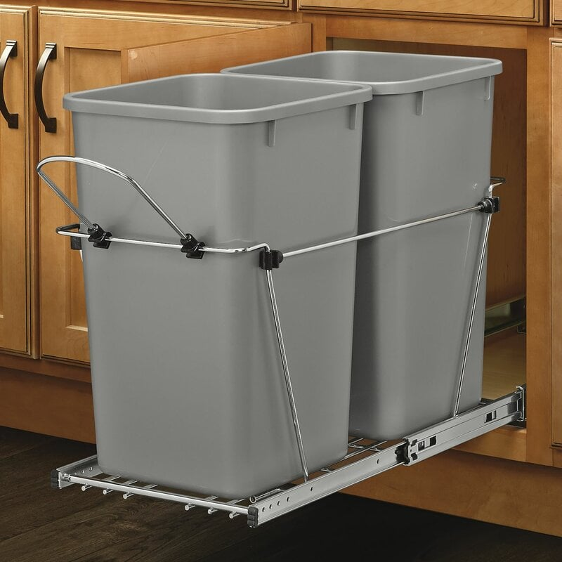 6.75 Gallon Pull Out Trash Cans
