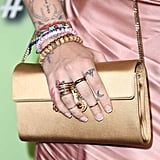 Paris Jackson's French Manicure at the amfAR Gala