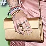 Paris Jackson's French Manicure