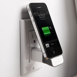 MiniDock Cordless iPhone and iPod Charger