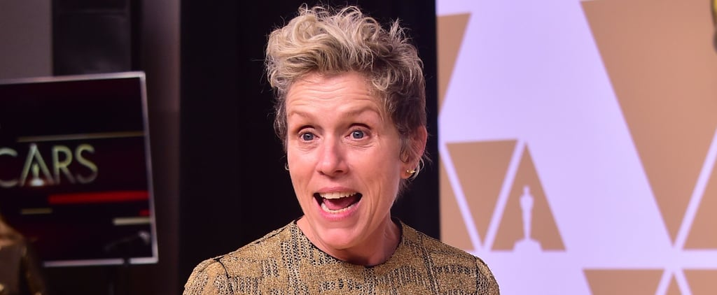 Frances McDormand's Inclusion Rider Quotes at Oscars 2018