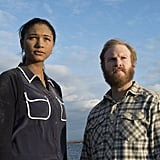 "Greta Onieogou as Aly and Henry Zebrowski as Quentin on the episode titled ""Dark Matter."""