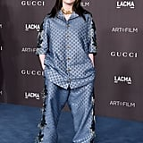 Billie Eilish Wearing Gucci at the 2019 LACMA Art + Film Gala