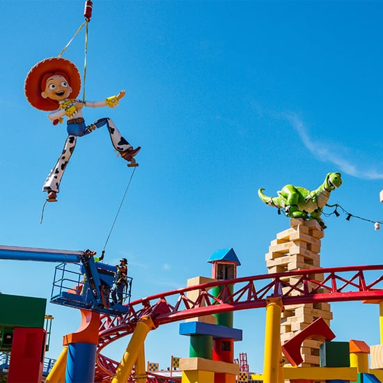 Jessie and Rex Toy Story Land