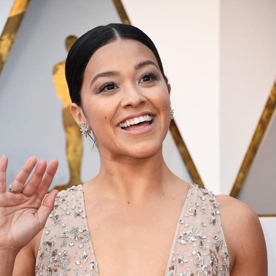 Gina Rodriguez Oscars Hair and Makeup 2018