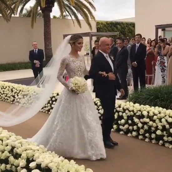Sarah Mattar Diniz's Wedding Dress