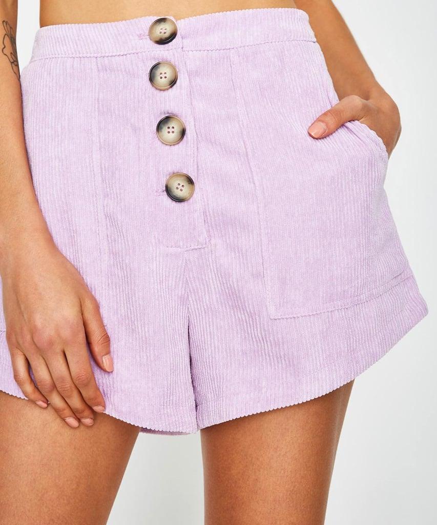 Seven Wonders Mon Amour Shorts Lilac ($79)