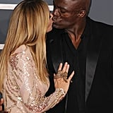 Heidi and Seal show the love at the Grammy Awards in 2010.