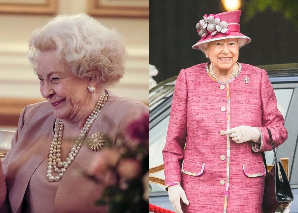 Maggie Sullivun as Queen Elizabeth II
