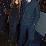 Eddie Redmayne and Hannah Bagshawe held hands in London.