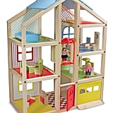 Melissa & Doug Hi-Rise Wooden Dollhouse
