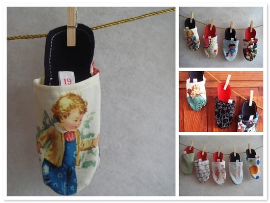 Etsy Find: Tiny Shoe Advent Calendar