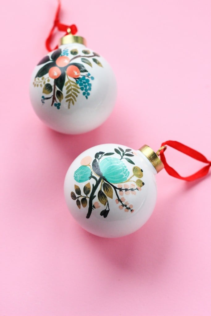 DIY Temporary Tattoo Ornaments