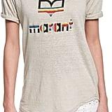 Isabel Marant Kolda Short-Sleeve Logo Tee, White ($180)