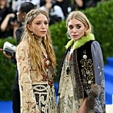 Mary-Kate and Ashley Olsen were two of a kind hitting the red carpet.
