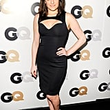 Elisabeth Moss in a sexy cut out dress.