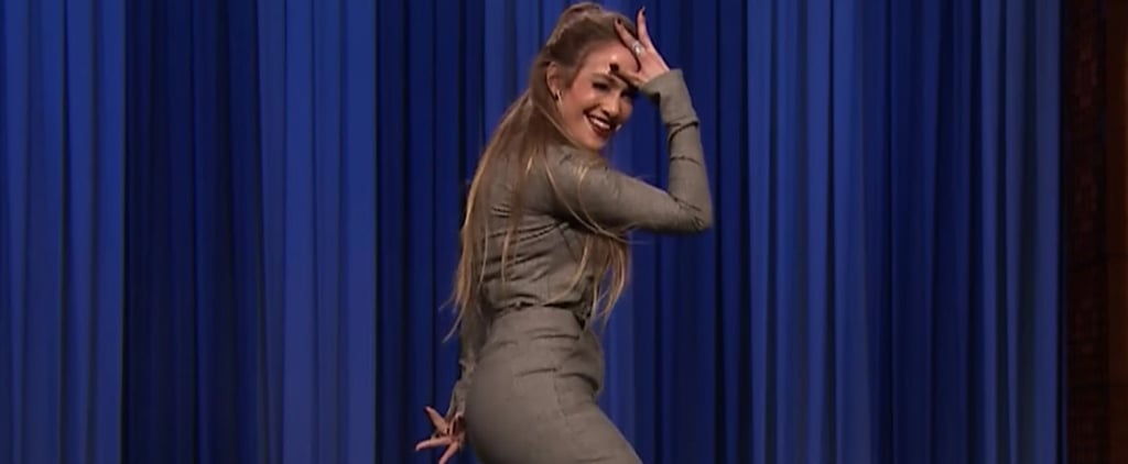 "Jennifer Lopez ""Dance Battle"" Video on The Tonight Show 2017"