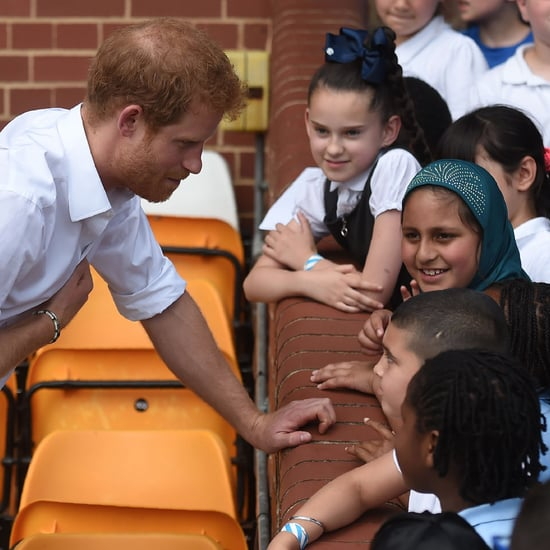 Prince Harry Visiting Leeds July 2017