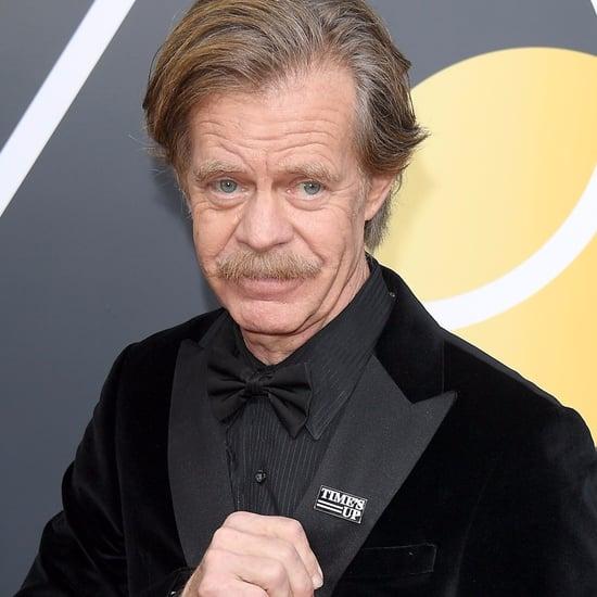 William H. Macy Talks #TimesUp on Golden Globes Red Carpet