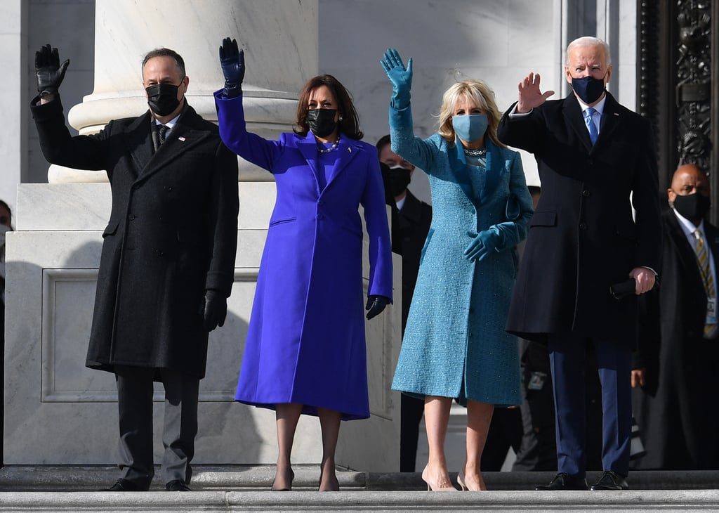 """POPSUGAR: When did you find out Jill would be wearing Markarian on Inauguration Day? AO: We were so honored to even be considered to design Dr. Biden's Inauguration look. Our entire team was so excited to be a part of this, it felt very energizing. We did not know that she was going to wear it until she walked out that morning, so we were almost just as surprised as everyone else! """"The fact that Dr. Biden chose an emerging American brand shows that she understands the influence her choices can have on American fashion. PS: What was the aftermath like? Assuming there were a lot of DMs! AO: I knew there would be a lot of attention on whatever Dr. Biden chose to wear on Inauguration Day, but I never expected it to be to the extent that it was. There was such a huge outpouring of congratulations and well wishes afterwards that felt so heartwarming and encouraging. I truly appreciate every single message I received. PS: What does it mean to you that in 2021 the First Lady has chosen your brand for this moment in the spotlight? AO: It is the greatest honor and truly humbling. The fact that Dr. Biden chose an emerging American brand shows that she understands the influence her choices can have on American fashion."""