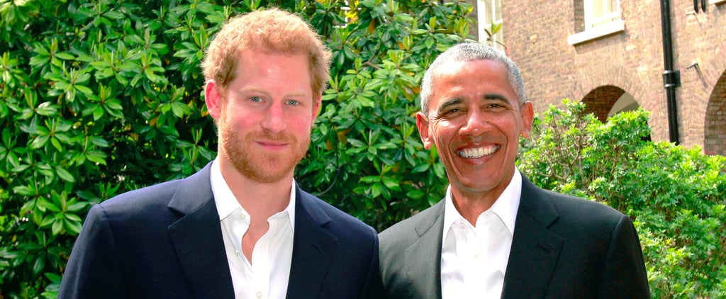 Barack Obama Reunites With Prince Harry, Offers His Condolences to the Manchester Victims