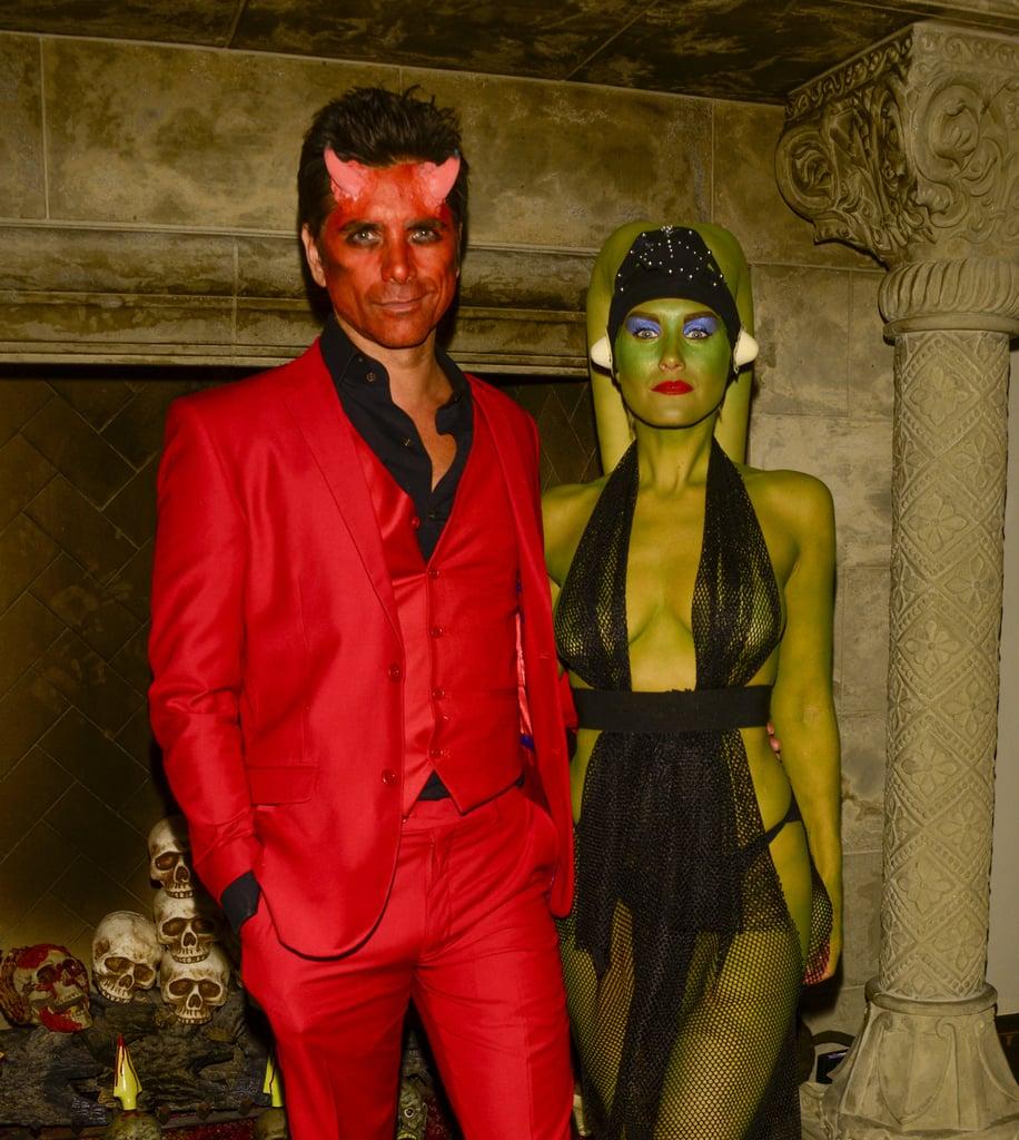 john stamos as a devil hot male celebrities in halloween