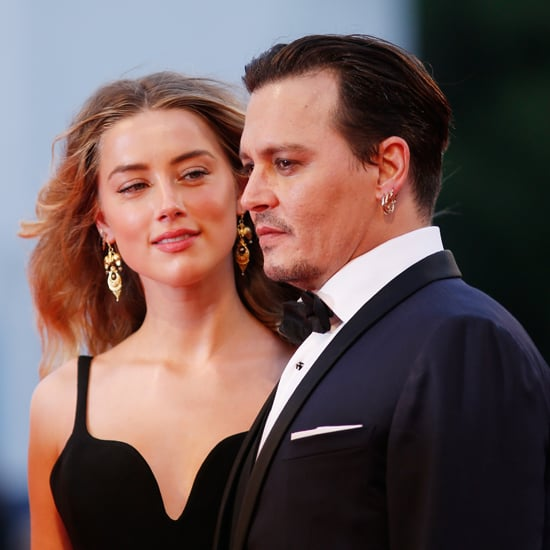 Johnny Depp and Amber Heard at Venice Film Festival