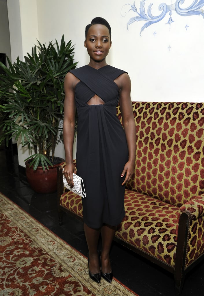 Lupita Nyong'o at the W Golden Globes Party