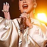 Christina Aguilera at the 2019 American Music Awards