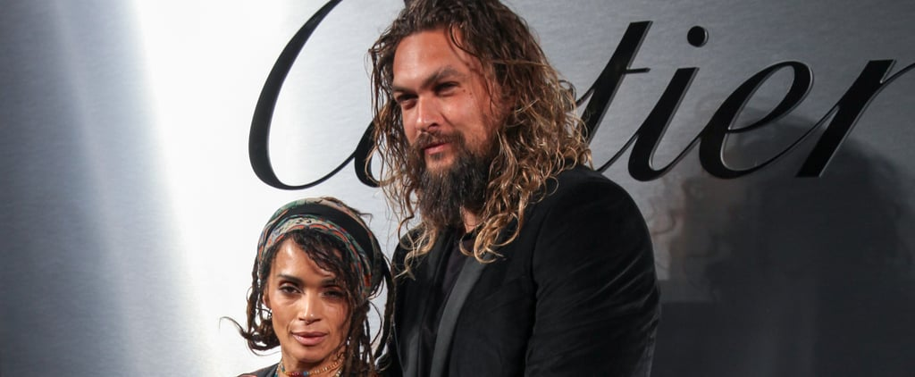 Jason Momoa and Lisa Bonet at Cartier Event April 2018