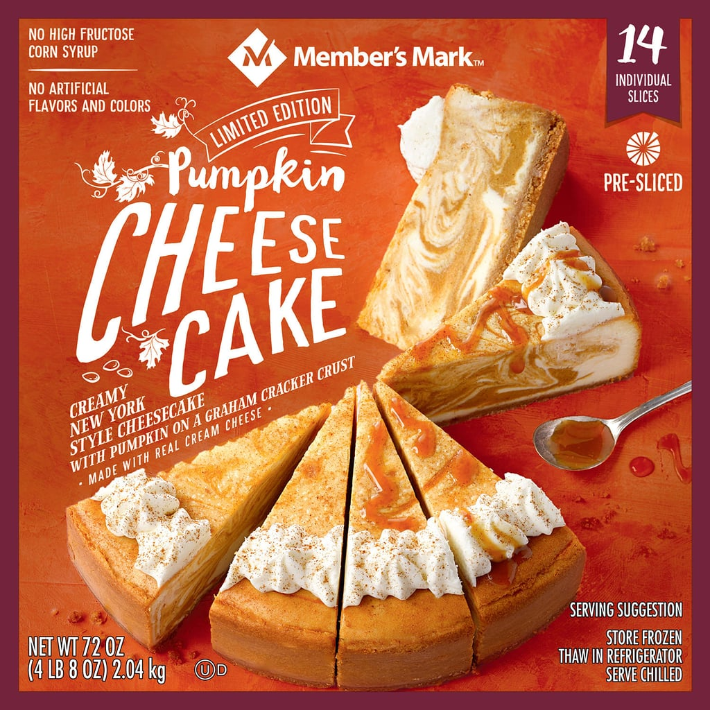 Sam's Club Has a Massive 4.5-Pound Pumpkin Spice Cheesecake