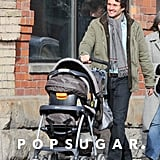Claire Danes and Hugh Dancy Take Cyrus For a Stroll in Toronto