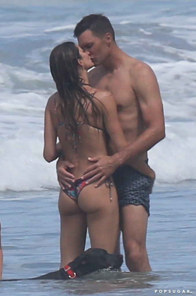 Gisele Bündchen and Tom Brady Steam Up Costa Rica With a Passionate Makeout Session